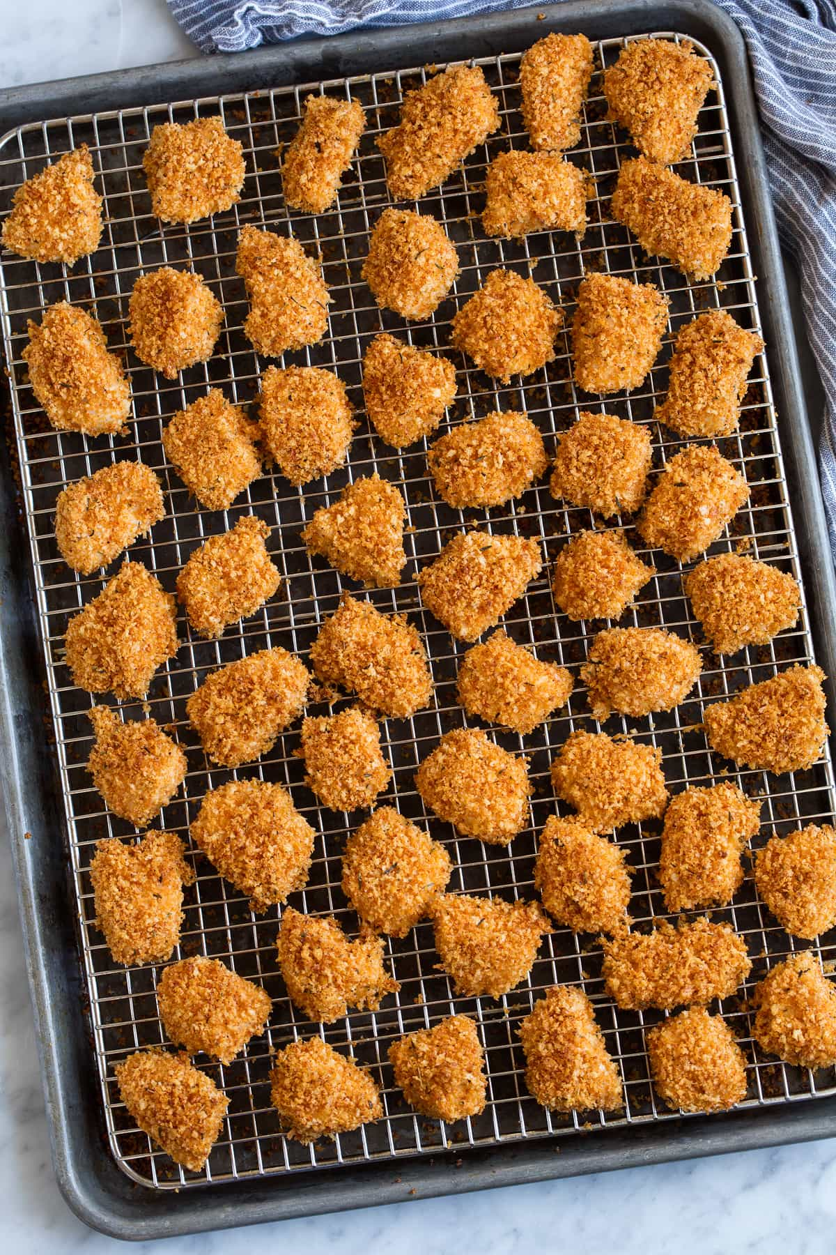baked chicken nuggets recipe cooking