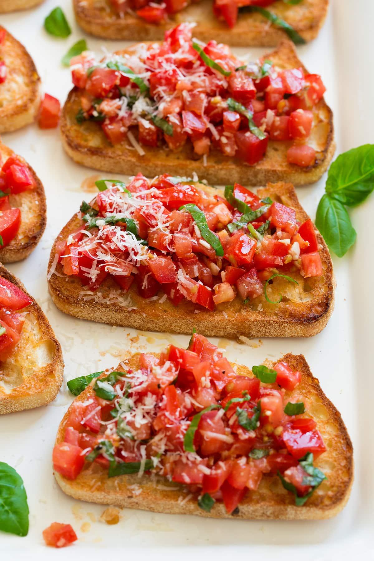 Easy Bruschetta Recipe - Cooking Classy