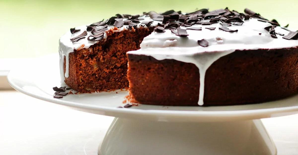Glutenfri Banankage Saftig Banankage Med Chokolade I Cookingclub