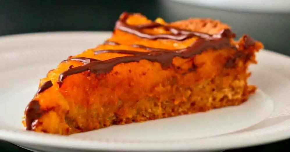 Tærte med græskarcreme glutenfri halloween opskrift