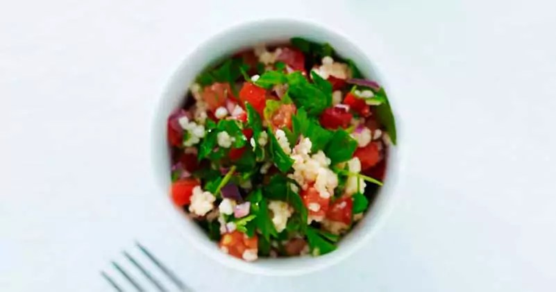 Tabouleh couscous salat