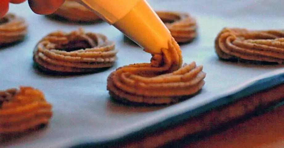 Glutenfri vaniljekranse jul småkager hjemmelavet opskrift
