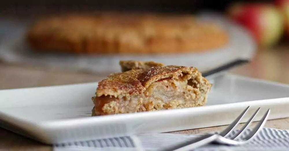 glutenfri æbletærte hjemmelavet opskrift