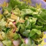 Bibb and Avocado Salad