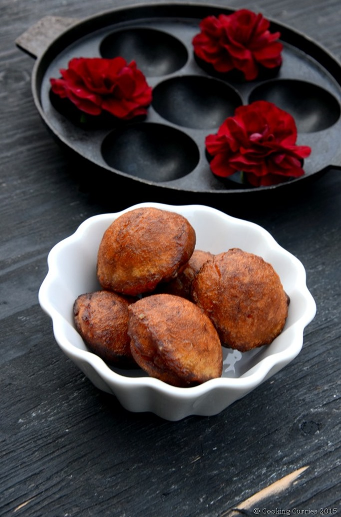 Easy 20 minute Unniappam - Mirch Masala - Vishu Onam Sadya Kerala Sadya Recipe (3)