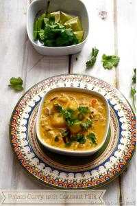 Potato Curry with Coconut Milk - Vegan   Gluten Free