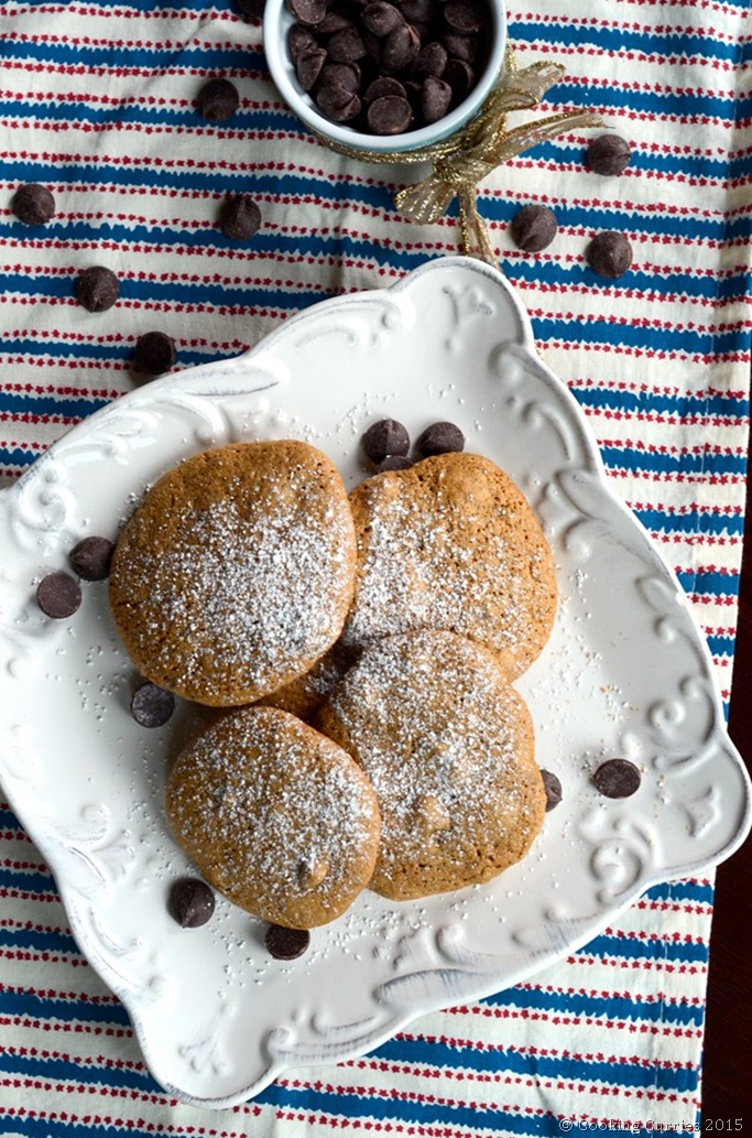 Peanut Butter Chocolate Chip Cookies - Mirch Masala