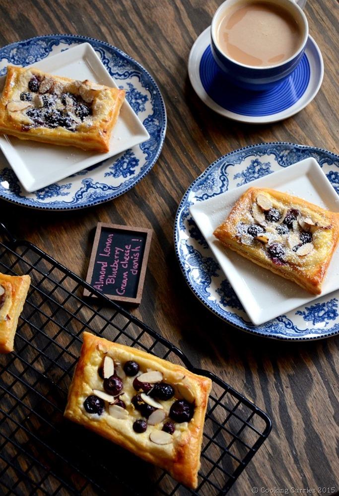 Almond Lemon Blueberry Cream Cheese Danish - Mirch Masala (3)