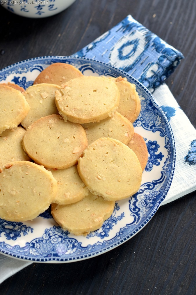 Chai Masala and Cashew Nut Shortbread Cookies -Cooking Curries.