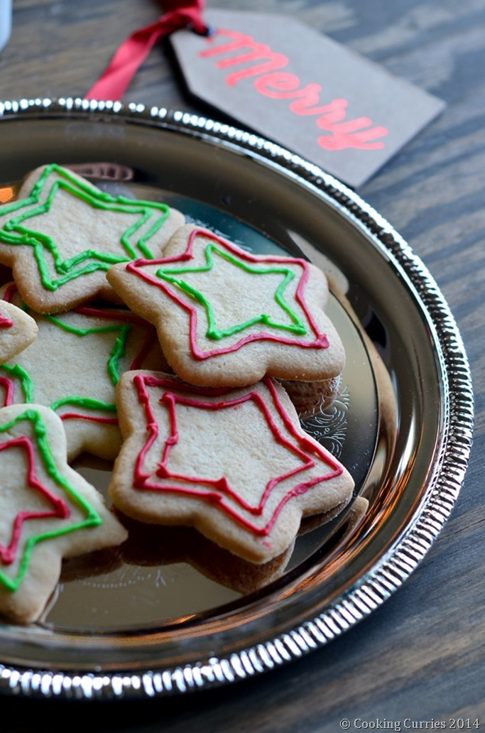 The Best Ever Sugar COokies - Mirch Masala