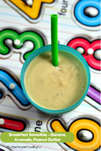 Little People Food ~ Breakfast Smoothie