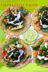 Chana Chat Tacos