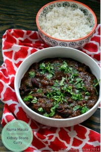 Rajma Masala ~ Kidney Beans Curry