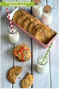 Chocolate Chip MnM Cookies