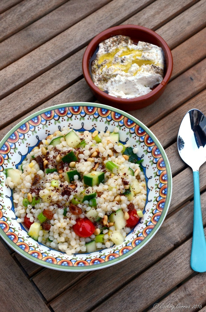 Lemony Cousous Salad - Vegetarian - Cooking Curries (3)