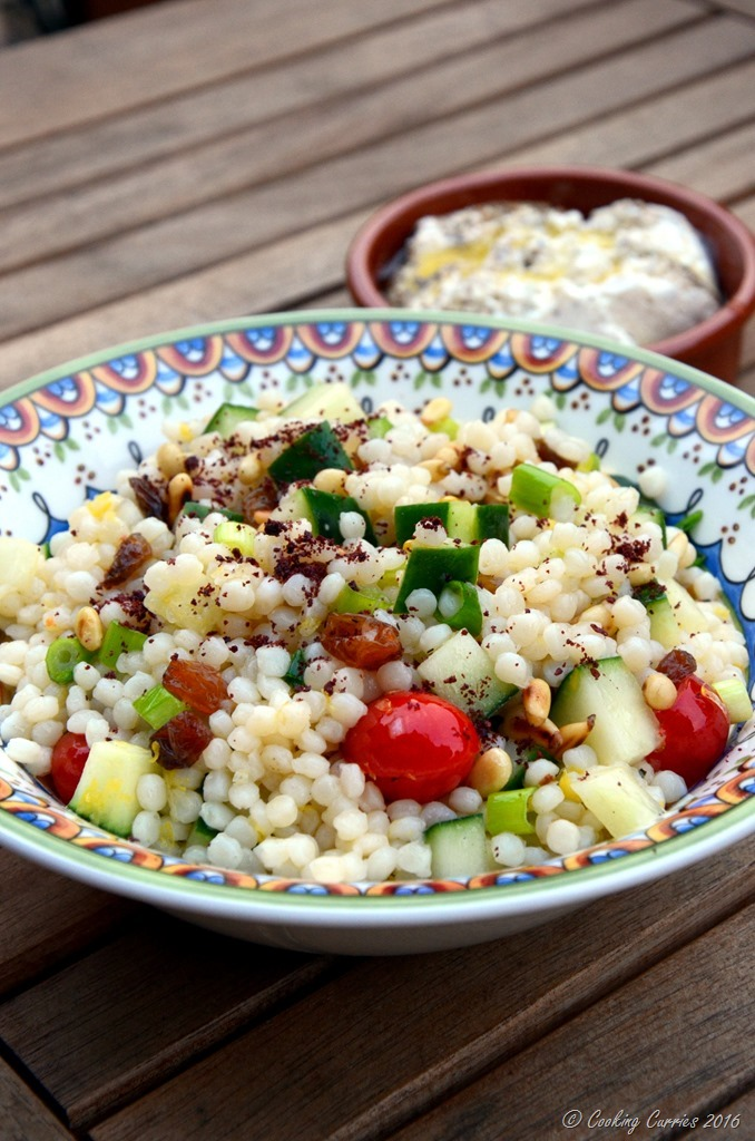 Lemony Cousous Salad - Vegetarian - Cooking Curries