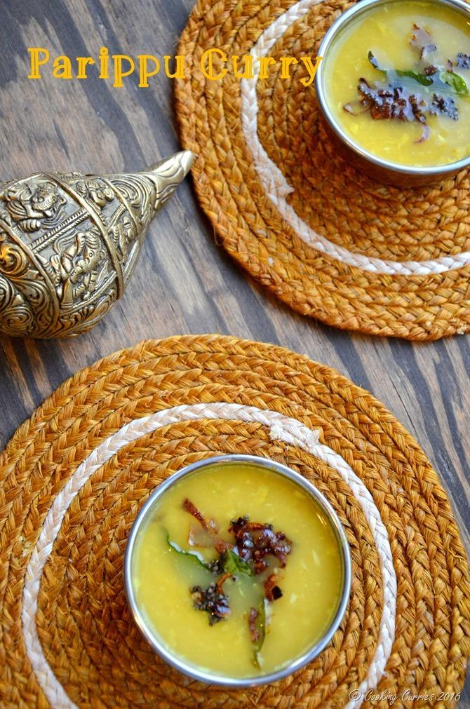 Parippu Curry Kerala Style Sadya (2)