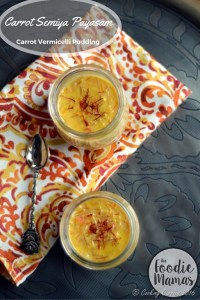 Carrot Semiya Payasam