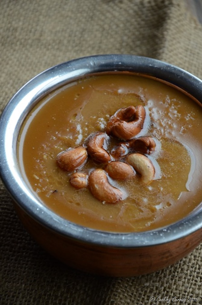 Gothambu Payasam- Broken Wheat Coconut Milk Pudding with Jaggery - Kerala Sadya Recipe - www.cookingcurries.com (2)