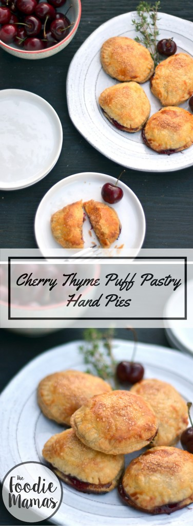 Cherry Thyme Puff PastryHand Pies