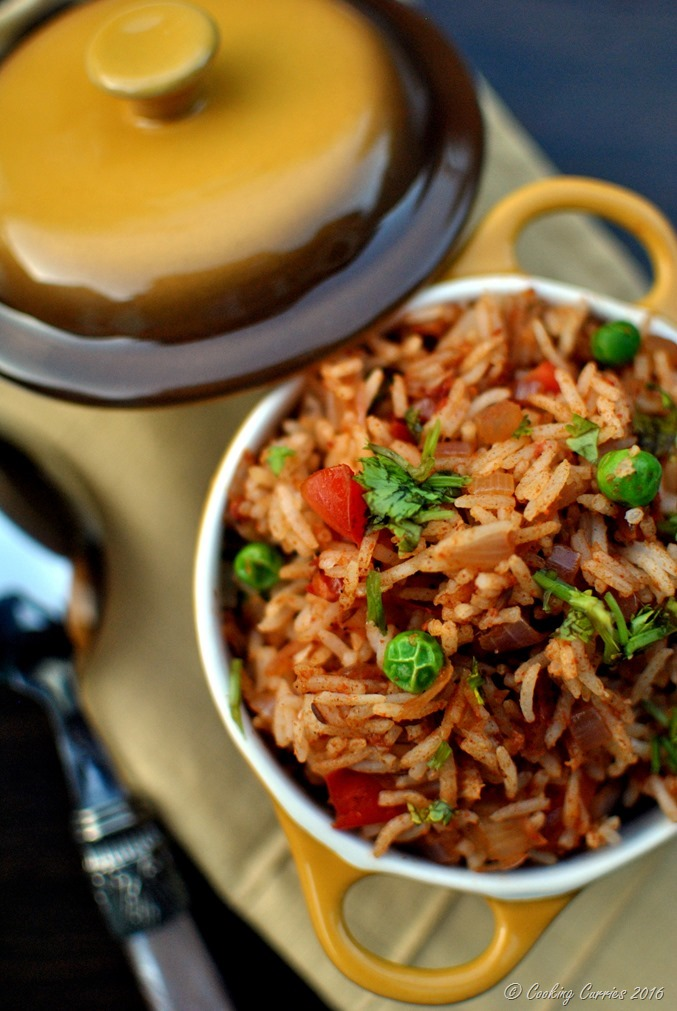 Tawa Pulao - Basmati Rice with Vegetables and Spices - Vegan, Gluten Free, Indian Food - www.cookingcurries.com (2)
