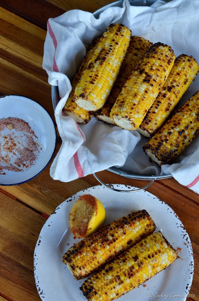Indian Style Grilled Corn - Bhutta (4)