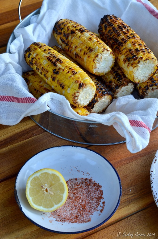Indian Style Grilled Corn - Bhutta (6)