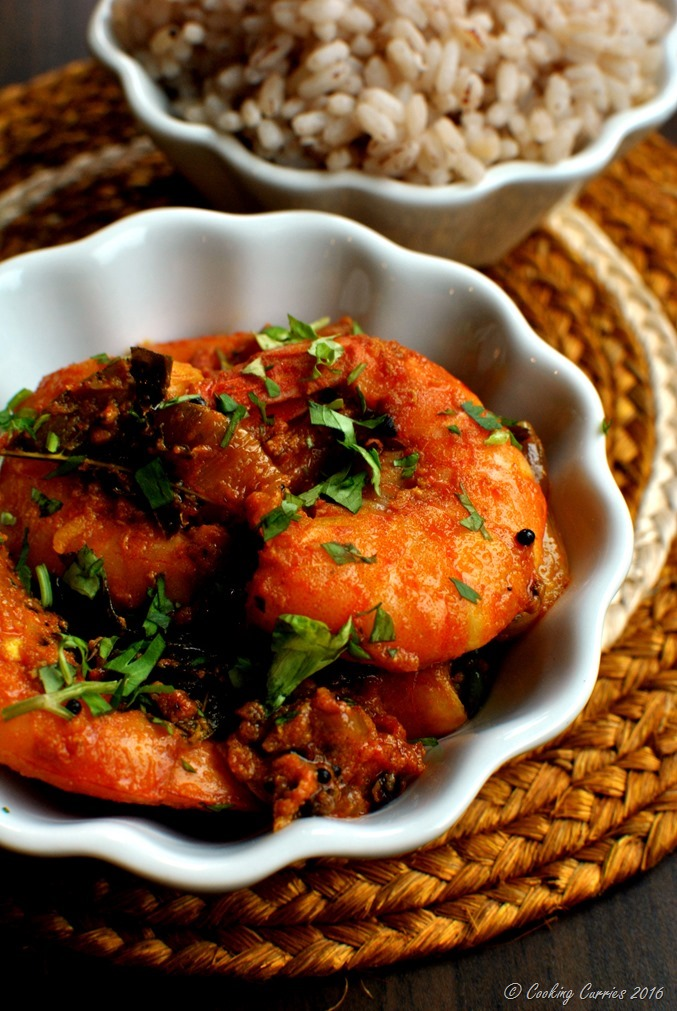 Nadan Prawns Masala Roast - Kerala Style Shrimp Masala Roast - www.cookingcurries.com- (2)