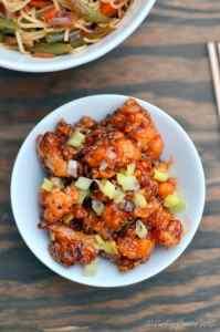 Better than Take Out General Tso's Cauliflower - Vegan, Gluten Free