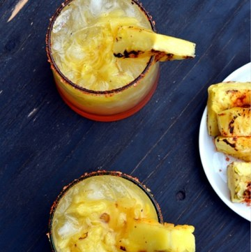 Grilled Pineapple Chilli Margarita