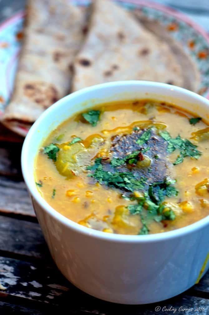 Lauki Chana Dal - Bottle Gourd Chana Dal - Vegan, Vegetarian, Gluten Free - www.cookingcurries.com (5)