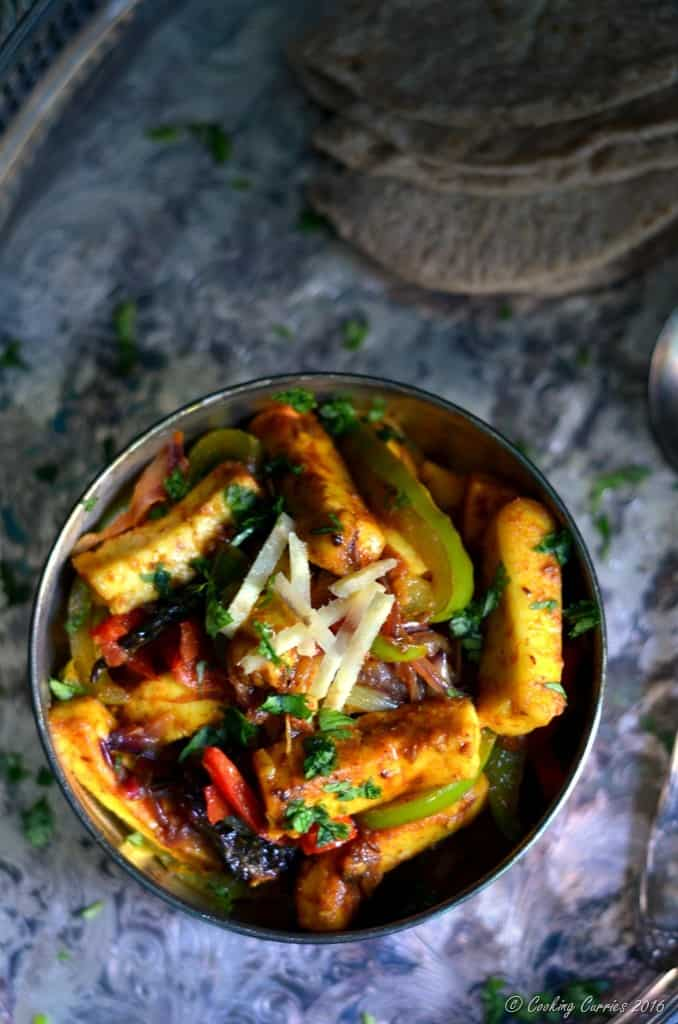 Paneer Jalfrezi - Paneer Stir Fried with Vegetables - www.cookingcurries.com (2)