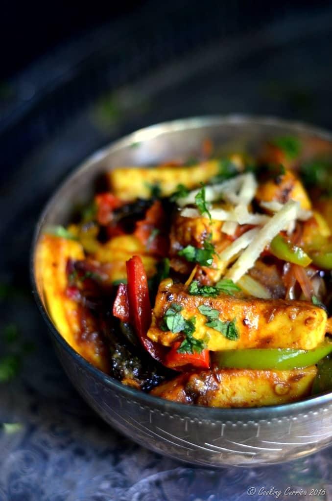 Paneer Jalfrezi - Paneer Stir Fried with Vegetables - www.cookingcurries.com (3)