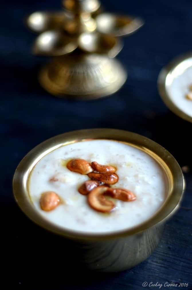 Slow Cooker Pal Ada Pradhaman - Rice Pasta and Milk Pudding - Kerala Sadya Recipe, Onam, Vishu - www.cookingcurries.com (3)