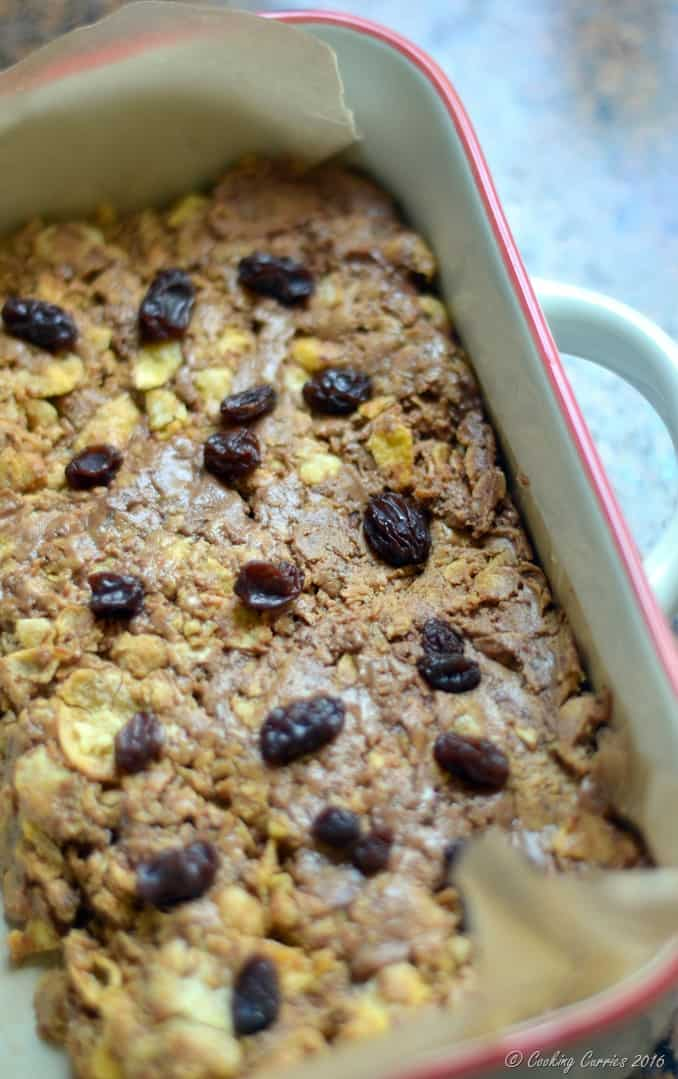 5 Ingredient Peanut Butter Chocolate Chips Cereal Bars - Little People Food - www.cookingcurries.com (8)