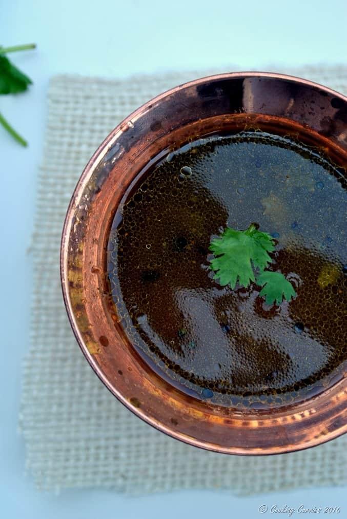 Tomato Pepper Rasam - Kerala Sadya Recipe - www.cookingcurries.com (4)