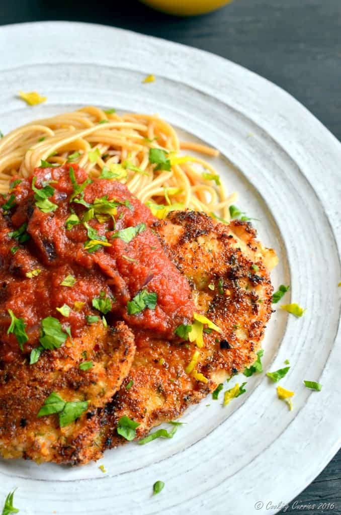 Chicken Parmesan - Comfort Food - www.cookingcurries.com