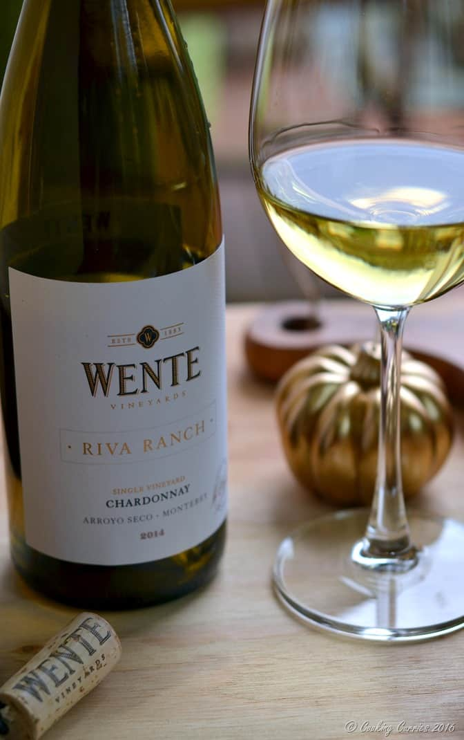 Butternut Squash and Chanterelle Puff Pastry Bites - Holiday Entertaining Food and Wine Pairing with Wente Vineyards Chardonnay (2)