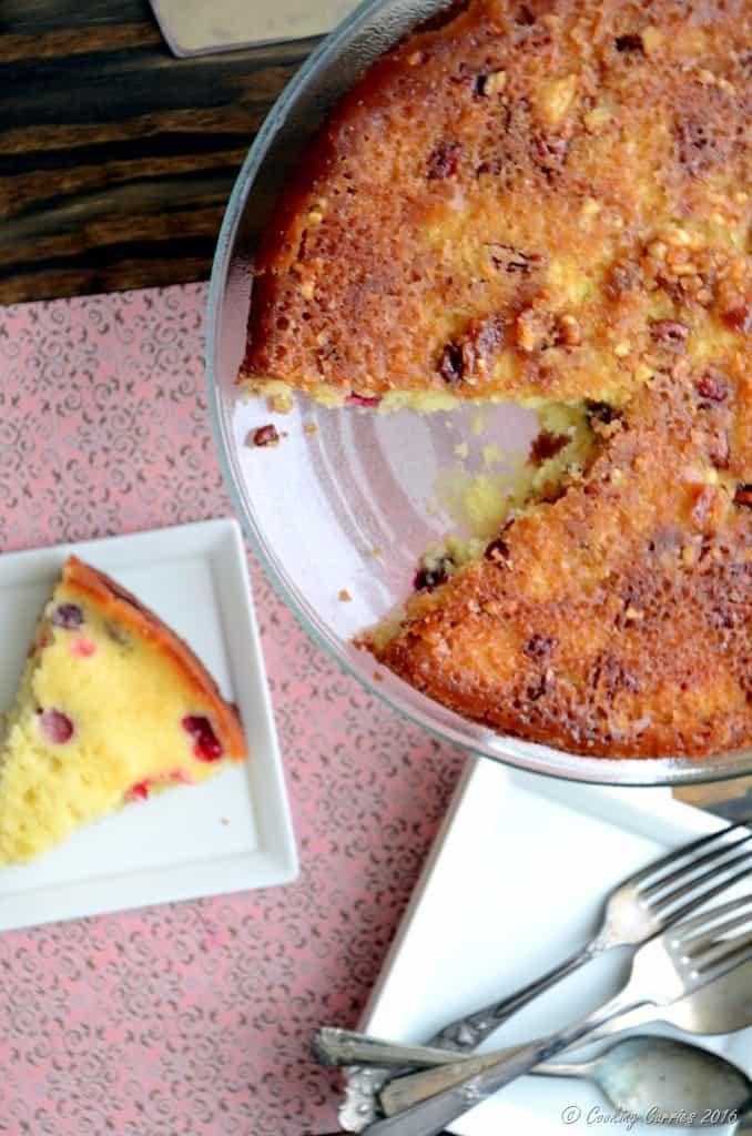 Cranberry Upside Down Cake - Thanksgiving Dessert (4)