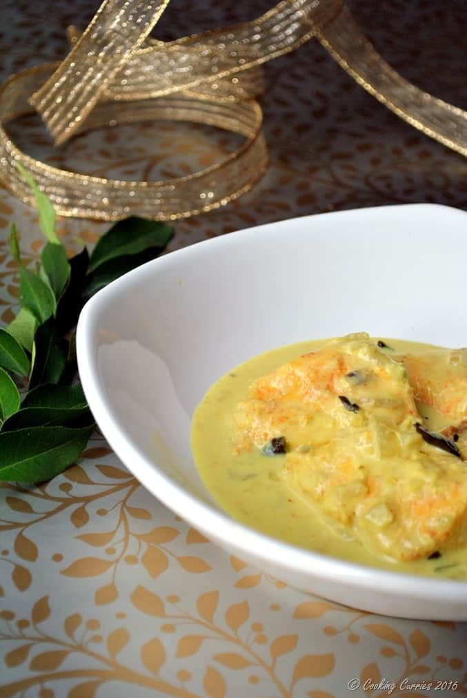 Fish Molee - Kerala Style Fish Curry with Coconut Milk - Kerala Christmas Recipes (3)