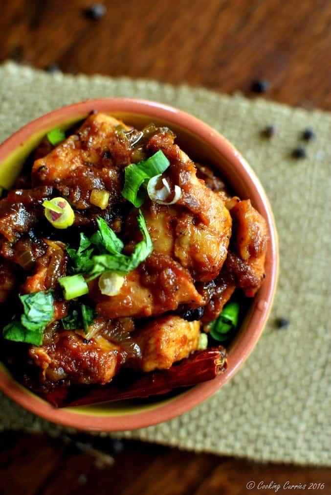 Kerala Style Chicken Chilli Roast (3)