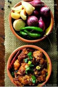 Kerala Style Chicken Chilli Roast