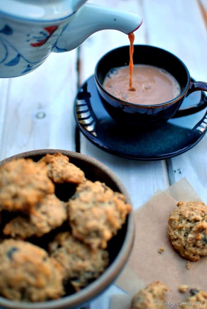Orange Scented Fig and Walnut Oatmeal Cookies (2)