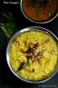 Ven Pongal – Savory Rice and Moong Dal Breakfast Porridge