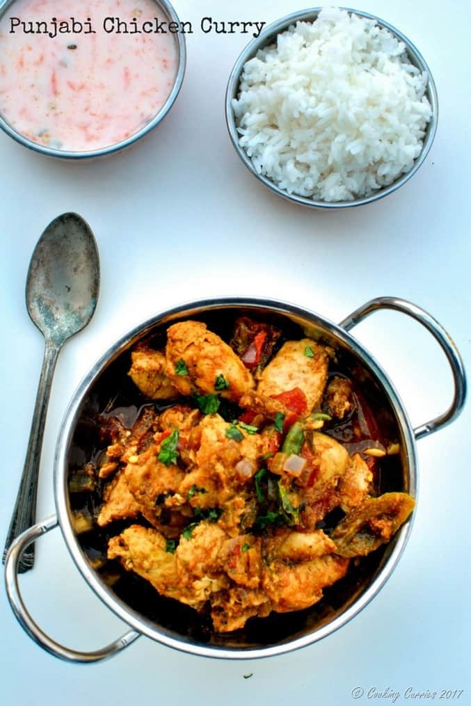 Punjabi Chicken Curry (1)