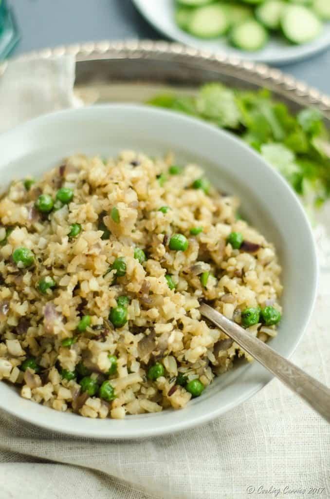 Cauli Rice Peas Pulao (9 of 10)