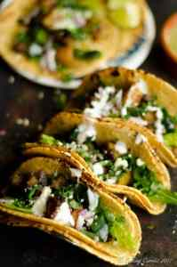 Potato Roasted Poblano Tacos