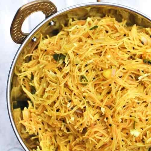Lemon Semiya Upma South Indian Breakfast Lemon Vermicelli