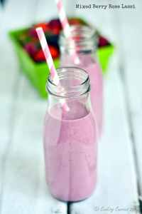 Mixed Berry Rose Lassi