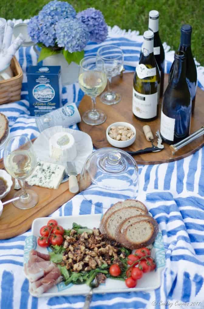 French Backyard Picnic - Warm Mushroom Salad Recipe (6 of 10)